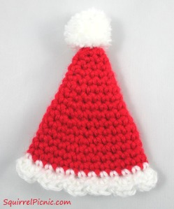 Miniature Santa Hat by Squirrel Picnic