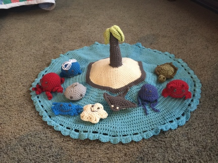 Island Play Set by Rosemary Maxson
