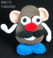 Mr. Potato Head by Marta of Hama Style and Amigurumi