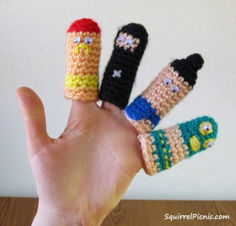 Thumb Wrestlers by Squirrel Picnic