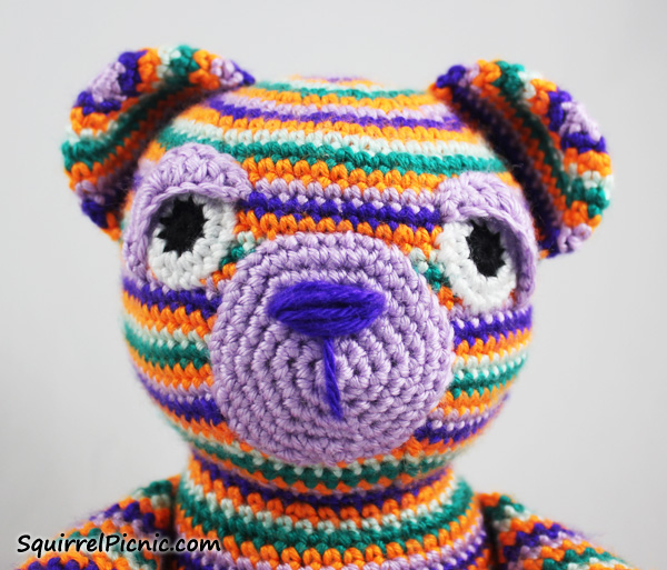 Crochet Eyes : How to Add Faces to Amigurumi: Crochet Eyes and Eyelids Squirrel ...
