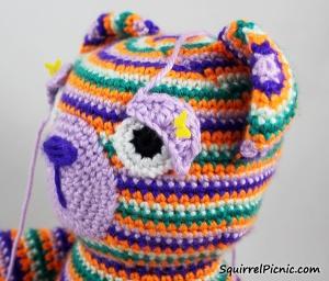 Crochet Eye Tutorial Step 10