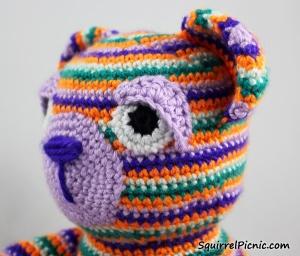 Crochet Eyes for Your Amigurumi Tutorial by Squirrel Picnic
