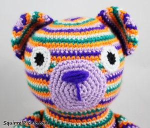 Crochet Eyes for Your Amigurumi Tutorial by Squirrel Picnic