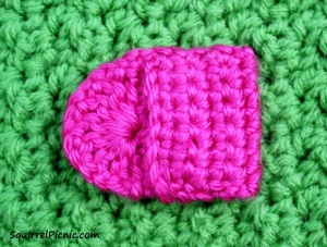 Crochet Purse for Your Squirrel Friend Step 3