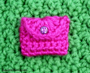 Crochet Purse for Your Squirrel Friend Step 5