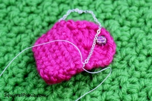 Crochet Purse for Your Squirrel Friend Step 6