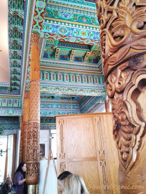 Dushanbe Teahouse Ceiling