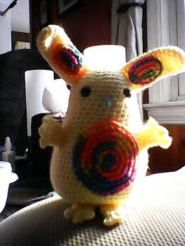 Jelly Belly Bunny by Flo