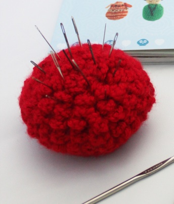 marigold pincushion