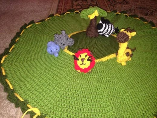 Safari Play Set by Amanda Thorpe