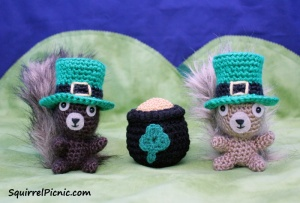 St Patricks Day Leprechaun Hat by Squirrel Picnic 3