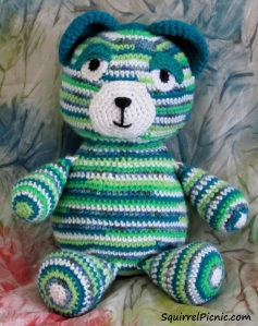 Motley Bear Green