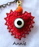 Annie's Eye Charm