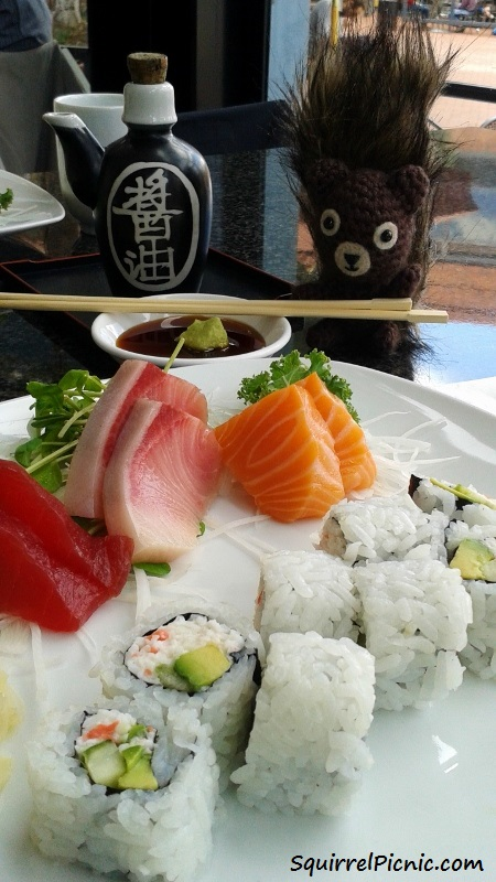 Hodge Says Sushi
