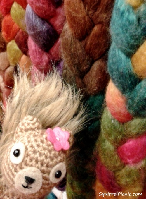 Podge says roving wool is soft