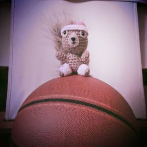 Day 15 ★ Let's play b-ball till the sun goes down. Do you know SQUIRREL? It's like HORSE but way cooler and slightly longer.