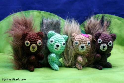 How to Make Your Amigurumi's Head Turn by Squirrel Picnic
