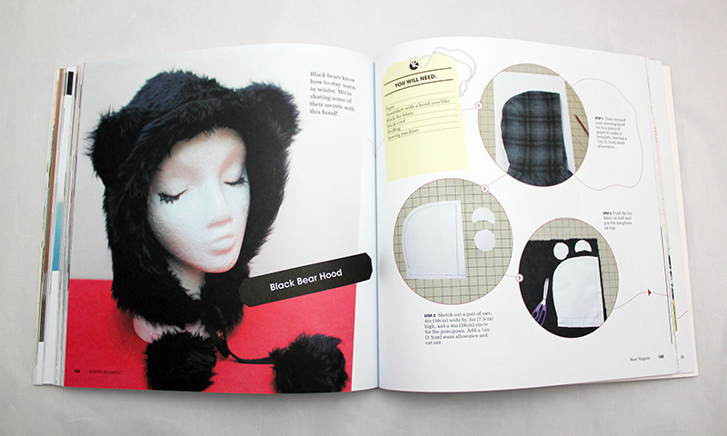 CO+K Fuzzy Bear Hood Tutorial