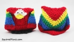 Amigurumi+Origami Parrot Crochet Pattern by Squirrel Picnic