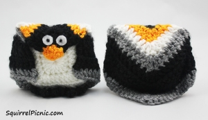 Amigurumi+Origami Penguin Crochet Pattern by Squirrel Picnic