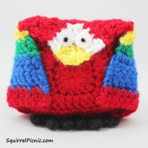 Crochet Unlikely Friend Bird by Squirrel Picnic 12
