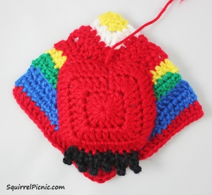 Crochet Unlikely Friend Bird by Squirrel Picnic 8