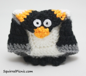 Penguin Amigurumi Pattern by Squirrel Picnic