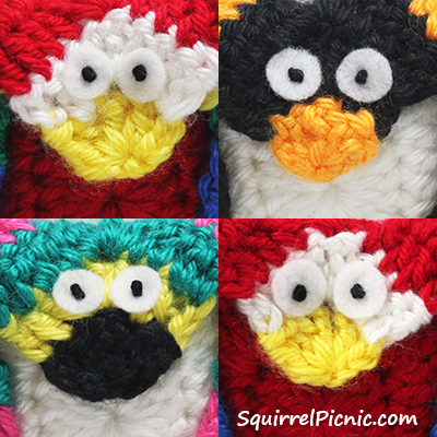 Ultra Easy Amigurumi Eyes Tutorial by Squirrel Picnic