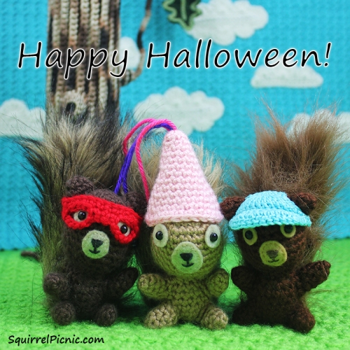 Happy Halloween from Squirrel Picnic