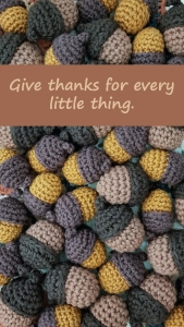 Thanksgiving Wallpaper with Sentiment from Squirrel Picnic for Mobile 1920 x 1080