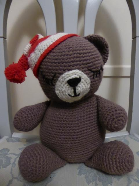 Sleepy Bear Crochet Pattern Squirrel Picnic