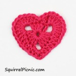 Squirrel Sized Valentine Heart by Squirrel Picnic