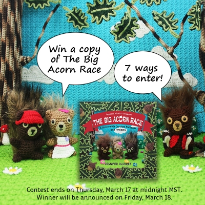 Win a copy of The Big Acorn Race