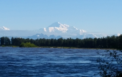 Denali seen from Talkeetna
