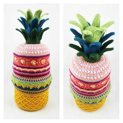 Pineapple Sunset by Jennifer Olivarez