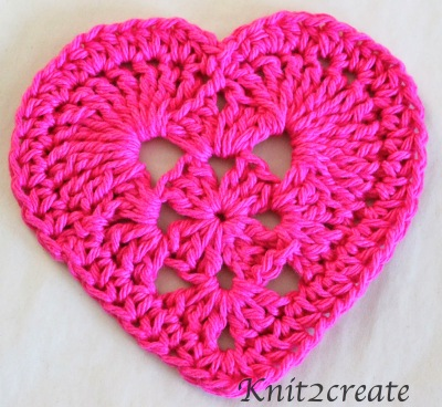 Granny Heart from Knit2Create