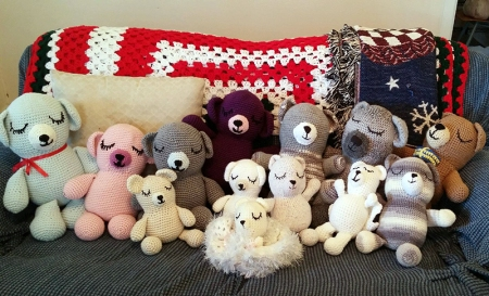 Sleepy Bears by Just a Few Stitches Crochet Group
