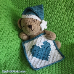 Sleepy Bear's Naptime Accessories Crochet Patterns