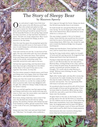 The Story of Sleepy Bear