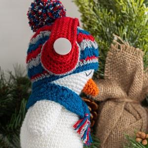 Crochet Baby Snowman, Amigurumi Snowman, Plush Snowman, Christmas ... | 300x300